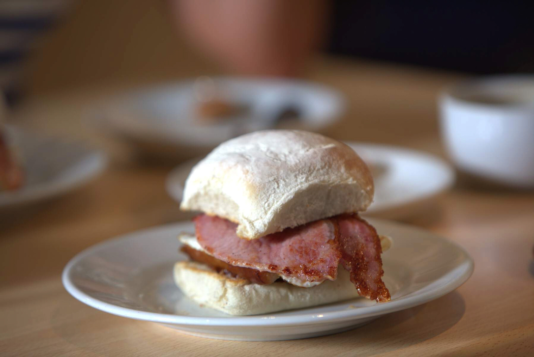 Light and fluffy blaa, a speciality of Waterford. © Keith Fitzgerald